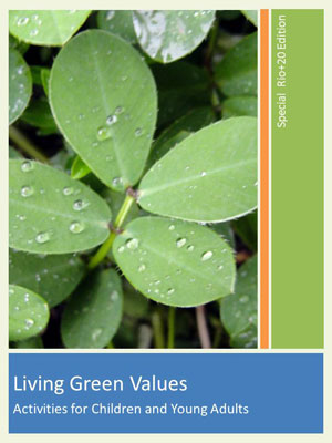 Living Green Values Activities for Children and Young Adults