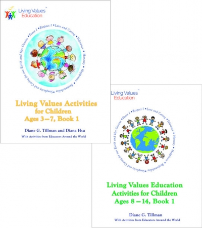 Exciting new Living Values Education Activities for Children Ages 3-7 and 8-14 available now!